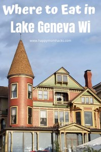 Can't Miss Restaurants in Lake Geneva Wisconsin. Best restaurants for breakfast, lunch and dinner. Plus fun wine bars and ice cream shops. Everything you need for a fun weekend getaway in Lake Geneva. Be ready for your trip with our Restaurant recommendations.  #lakegeneva #resturants #thingstodolakegeneva #wisconsin #lakegenevawi