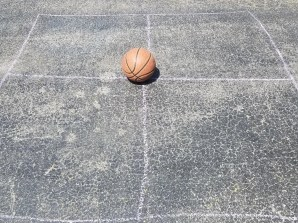 4 Square Game for Kids with Sidewalk Chalk