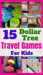 Fun Travel Games & Gadgets for Kids on Car Rides and Airplane Rides. Keep kids entertained on Family Vacation with cheap dollar Tree travel activities they'll love.  #travelgames #travelgadgets #travelwithkids #familyvacation