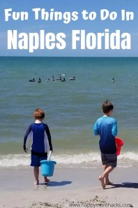 Unforgettable Things to Do in Naples Florida with Kids. Best beaches, restaurants, children's museums, Tin City, Zoos and more. What to do on Family Vacation in Naples to make it an amazing trip! #Naples #naplesfl #florida #familyvacation #travelwithkids #napleswithkids