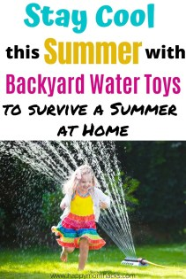 Cool Water Toys - Best Outdoor Activities for kids this Summer. Keep them entertained in your own backyard this summer with unique water toys they'll love. #activitiesforkids #outdooractivitiesforkids #kidsactivities #watertoys #summer