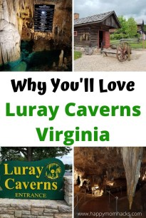 Shenandoah Valley Luray Caverns are an Amazing site to see. If you're in the Virginia you won't want to miss exploring the jaw dropping Luray Caverns. Find out everything you need to know before you go about exploring these cool Virginia caverns with kids. #luraycaverns #Shenandoahvalley #Virginia #familyvacation