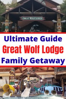 Tips & Tricks to Great Wolf Lodge Family Vacation in Wisconsin Dells. Everything to know before you go - Waterparks, Locations, MagiQuests, Rooms, Activities and more. Full review of Great Wolf Lodge and what to expect. Plus fun activities in the Wisconsin Dells area. #greatwolflodge #wisconsindells #waterparkresort #familyvacation  #familygetaway