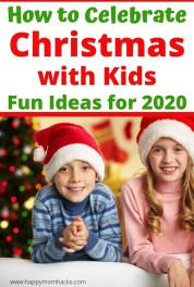24 Best Christmas Activities for Kids in 2020. Fun Christmas ideas for families while social distancing. Find out how to celebrate Christmas at home and virtually with family & friends. Fun holiday traditions to make this an unforgettable Christmas. #christmasideas #christmasactivities #christmas #familychristmas #christmaswithkids #holidayideas