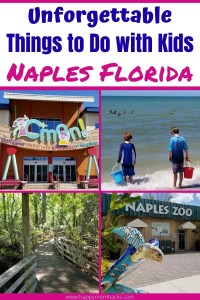 Best Things to Do in Naples Florida with Kids- All the can't miss places to visit from best beaches to children's museums, waterparks, zoos, nature preserves and more. Plus family-friendly restaurants and where to stay. Find out why Naples is the perfect family vacation destination. #naplesfl #florida #familyvacation #travelwithkids #beaches #southwestflorida #napleflorida #naples