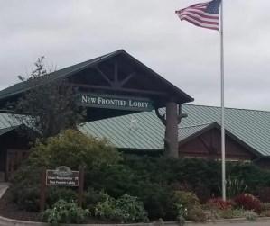 New Frontier Lobby of the Wilderness Resort in Wisconsin Dells.