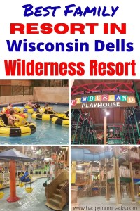 Wilderness is the Best Wisconsin Dells Waterpark Resort. A fun family hotel with Things to do both Indoors & Outdoor kids will love. Top tips with everything you need to know before you go from a parent. #wildernessresort #wisconsindells #waterpark #familyvacation #midwestvacation #weekendgetaway