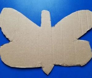 Cardboard Butterfly Cutout Template