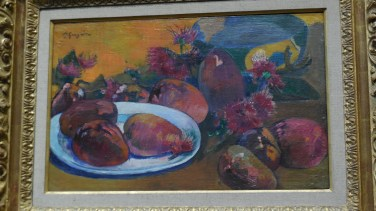 Londres National Gallery_6 - Paul Gaugin - Still Life with Mangoes