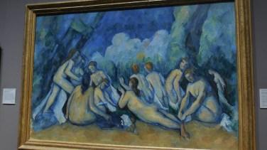 Londres National Gallery_7 - Paul Cézanne - Bathers Les Grandes Baigneuses