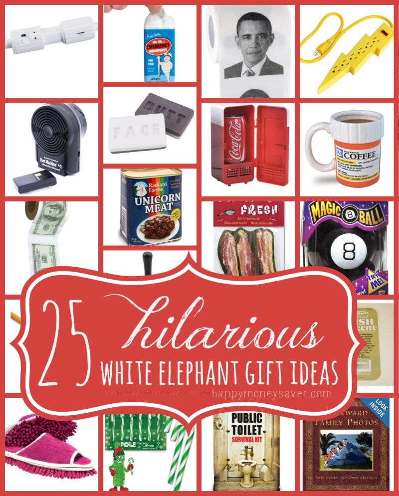 25 Best Hilarious White Elephant Gift Ideas