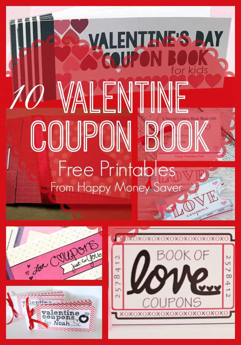10 Valentines Day Coupon Book Free PRINTABLES