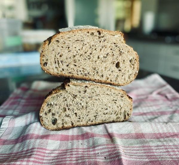 Purple Barley Crumb