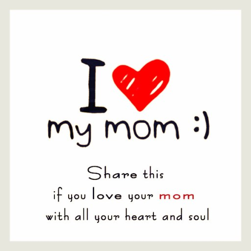 Greeting Card Mothers Day Words