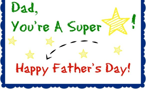 Happy Fathers Day Greetings Card 2020