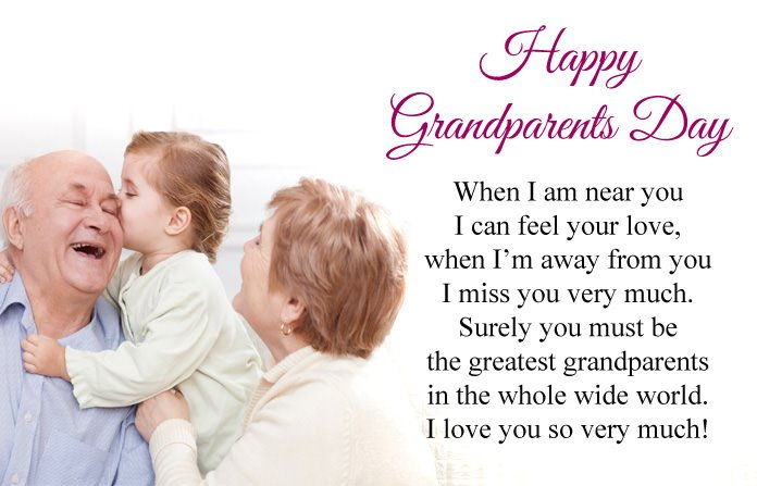 Short Happy Grandparents Day Poems From Kids For Grandpa