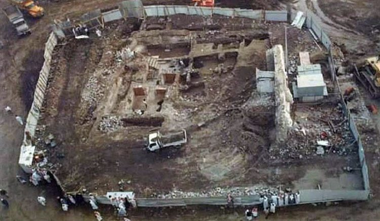 The site of the house in Makkah thought to belong to Khadija (ra)