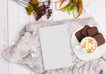 white-book-near-food-on-plate-2237798