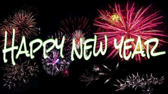 Happy New Year Images Sky Works Wallpaper