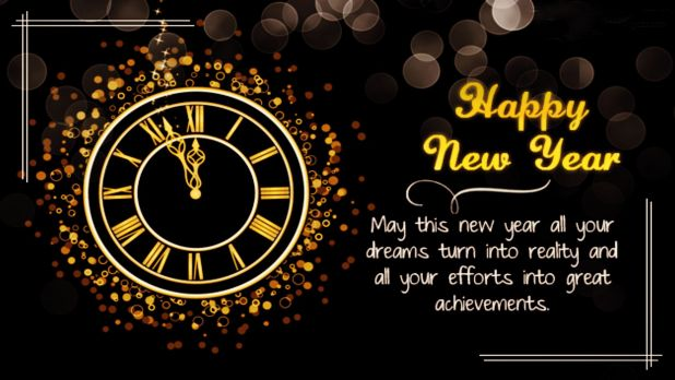 Achievements Quotes On Happy New Year Wallpaper