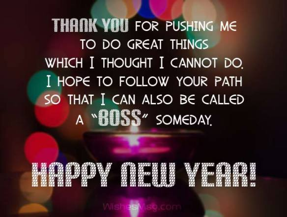 Happy New Year Blessings Positive