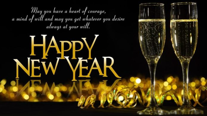 New year wishes to boss and colleagues