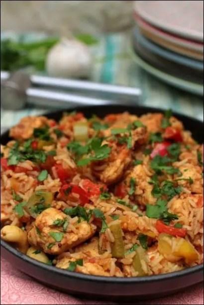 biryani de poulet facile