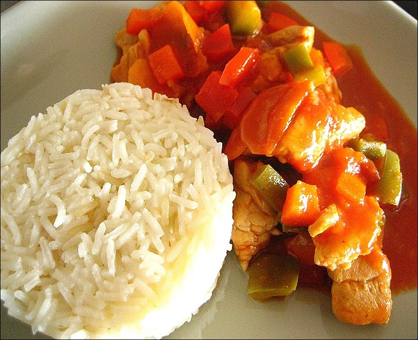 recette escalope de dinde sauce chinoise