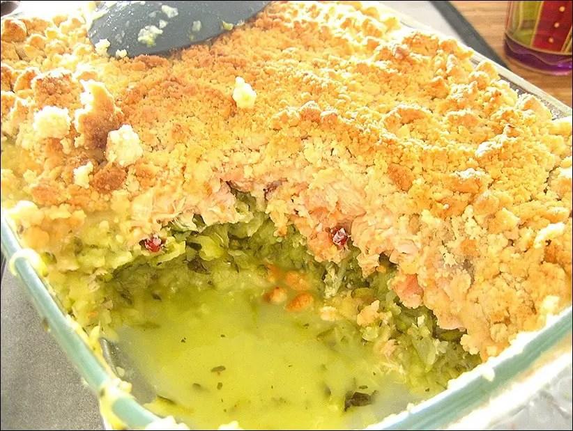 courgette saumon au four