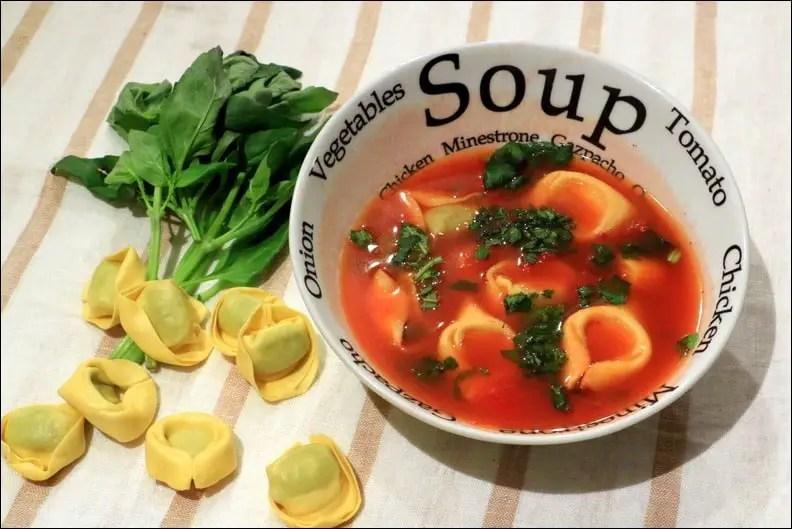 bouillon tomate vermicelles