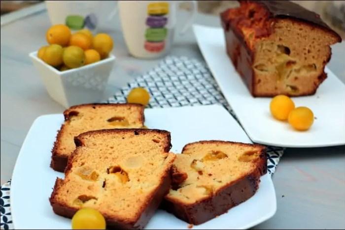 cake aux mirabelles