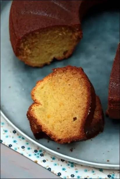gâteau au grand marnier
