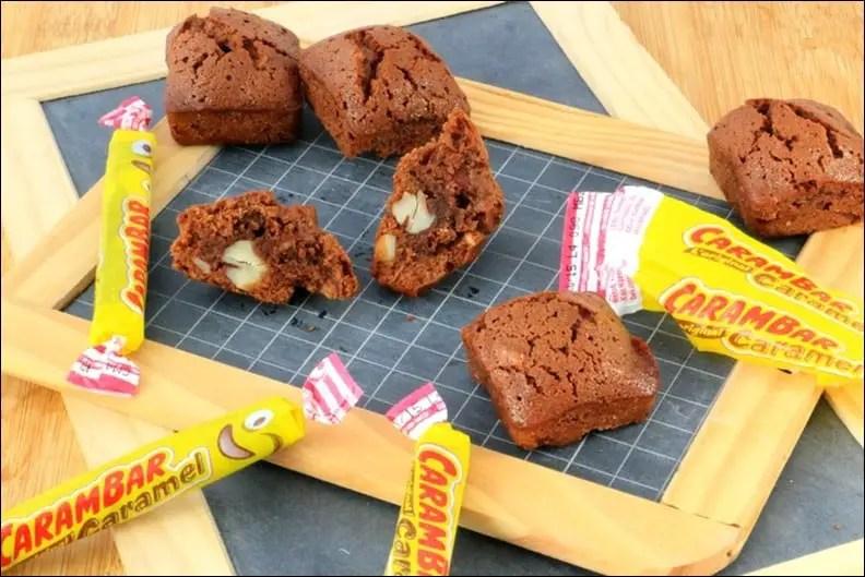 brownie au chocolat au lait carambar et amandes