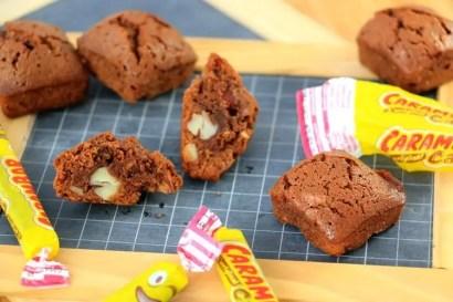 brownie chocolat amande carambar