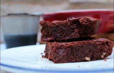 brownie sans gluten aux noix de pécan