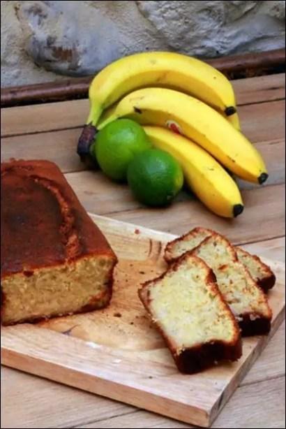 banana cake noix de coco