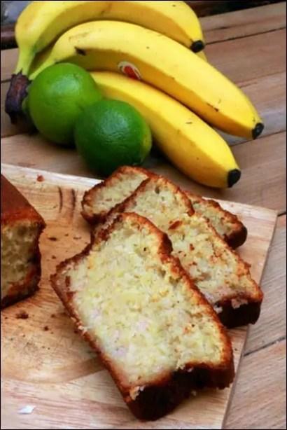 cake banane noix de coco