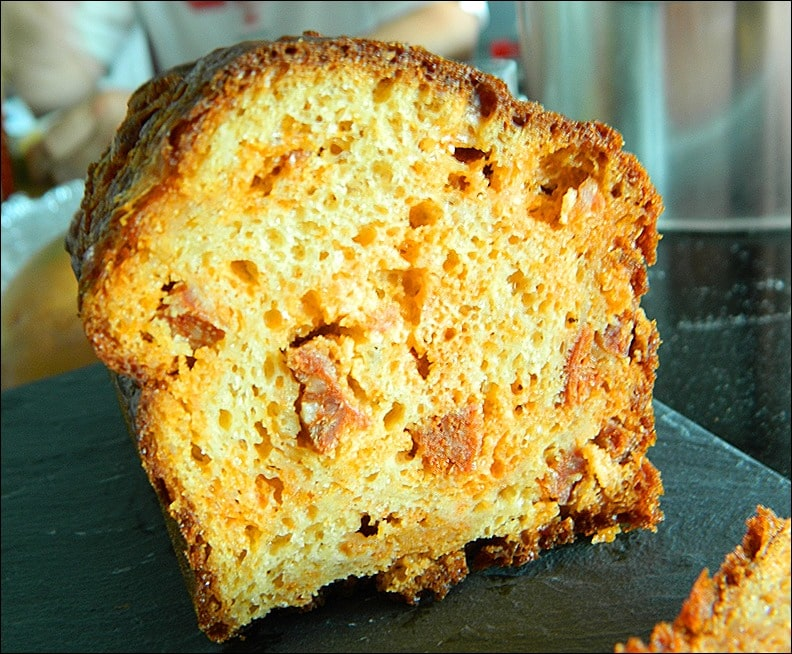 cake chorizo