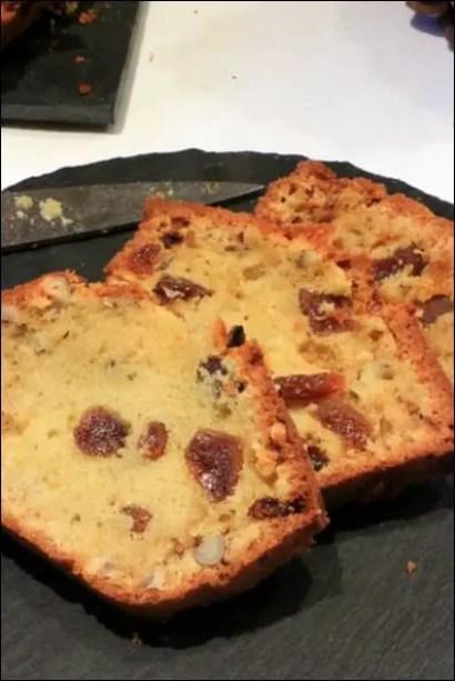 cake fruits secs rhum