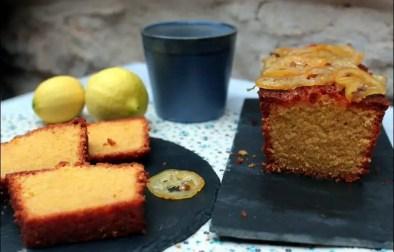 cake moelleux de polenta au citron
