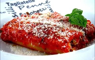 cannelloni aux saucisses et ricotta