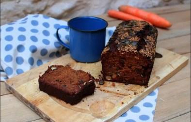 carrot cake aux fruits secs sans gluten sans lactose