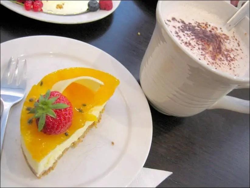 cheesecake aux fruits de la passion