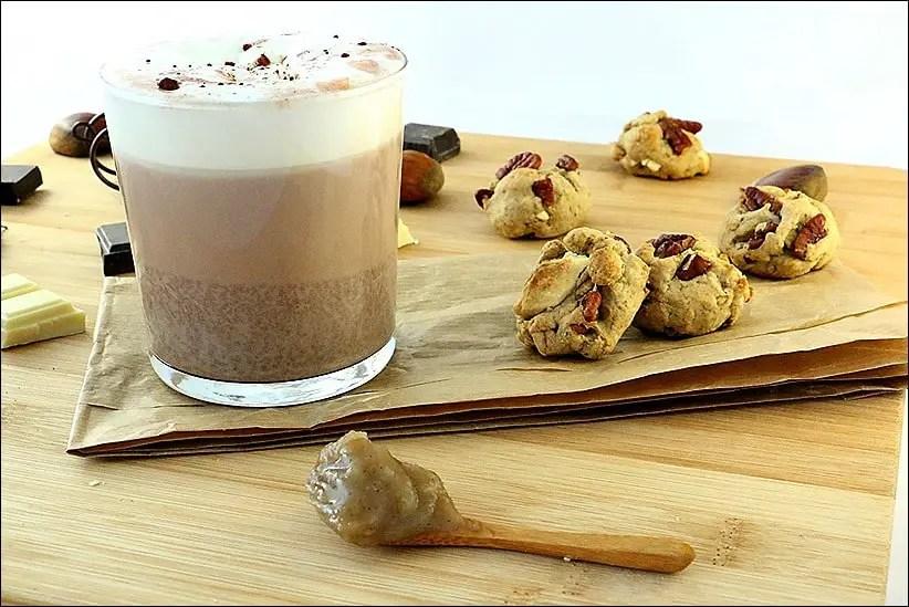 chocolat chaud marrons chantilly