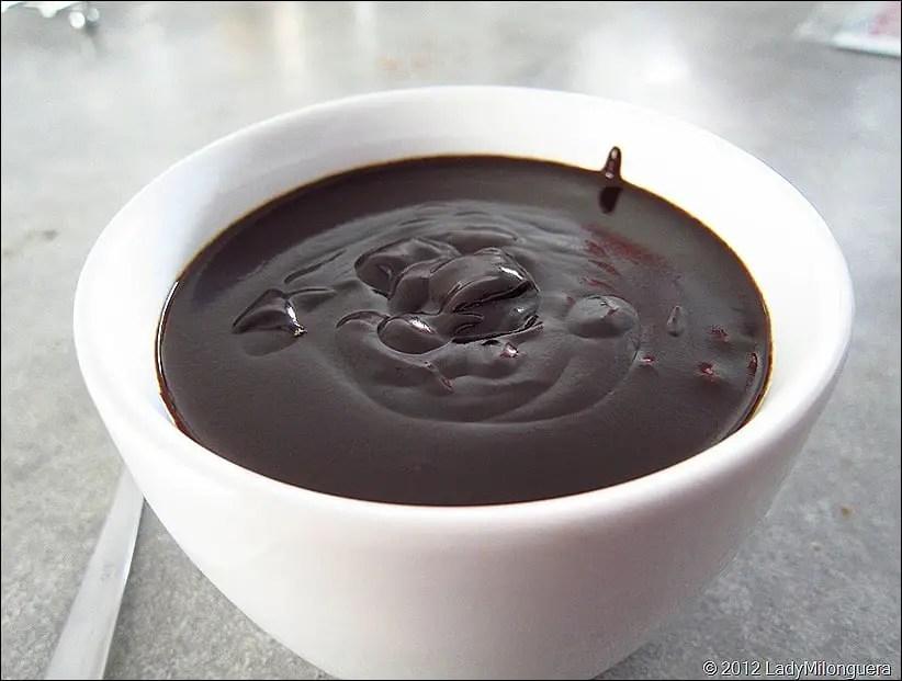 chaocolat chaud à la cannelle de Christophe Felder