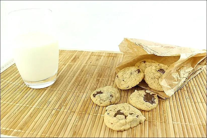 cookies americain pepite chocolat
