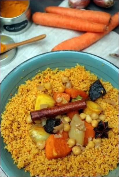 couscous végétarien hiver