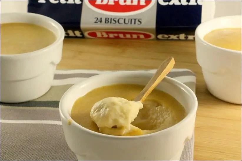 crèmes dessert aux Petits beurres