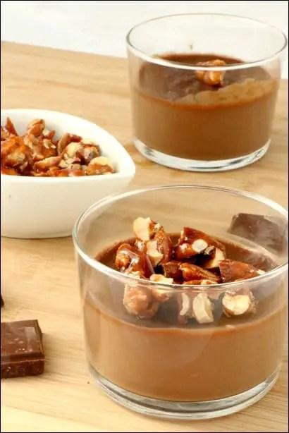 crème chocolat caramel