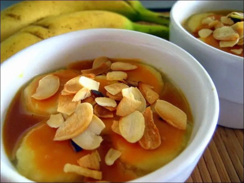 crème aux bananes recette